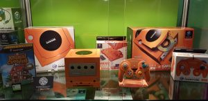 Photo of a Nintendo GameCube Display Stand