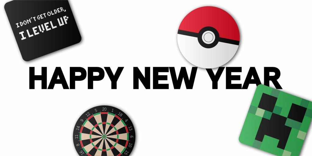 Happy New Year Gaming Displays Blog Banner