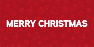 Merry Christmas Gaming Displays Blog Banner
