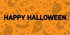 Happy Halloween Gaming Displays Blog Banner