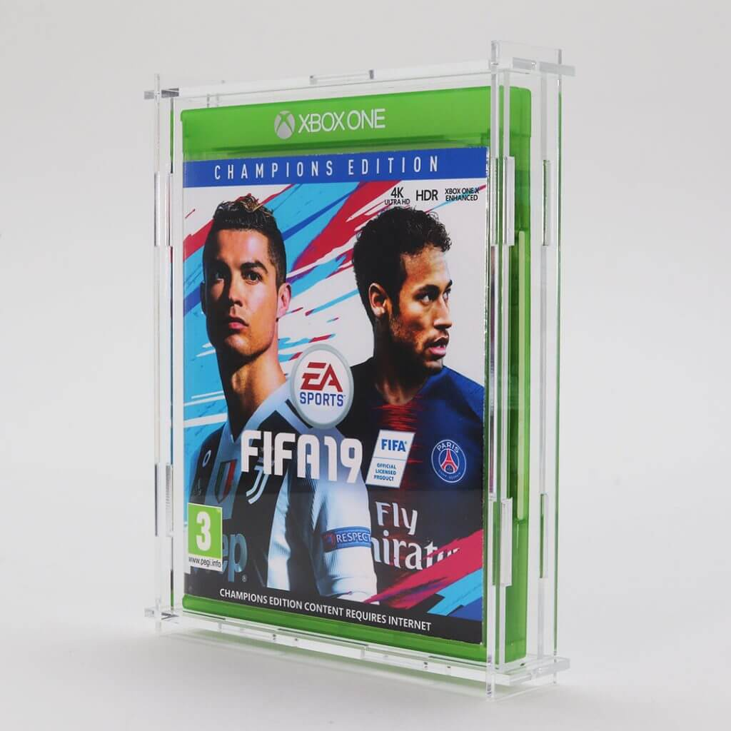 Clear Acrylic Microsoft Xbox One Game Display Case
