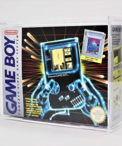 Clear Acrylic Nintendo Game Boy Original Boxed Console Display Case