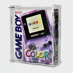 Game Boy Color Boxed Console Display Case