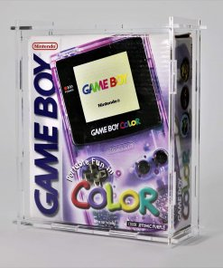 Clear Acrylic Nintendo Game Boy Color Boxed Console Display Case