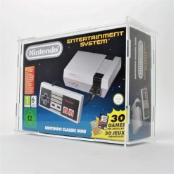 Clear Acrylic Nintendo NES Mini Boxed Console Display Case