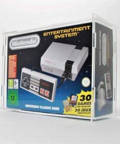 Photo of a Nintendo NES Mini Boxed Console Display Case