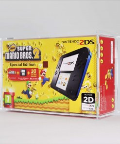 Clear Acrylic Nintendo 2DS Boxed Console Display Case