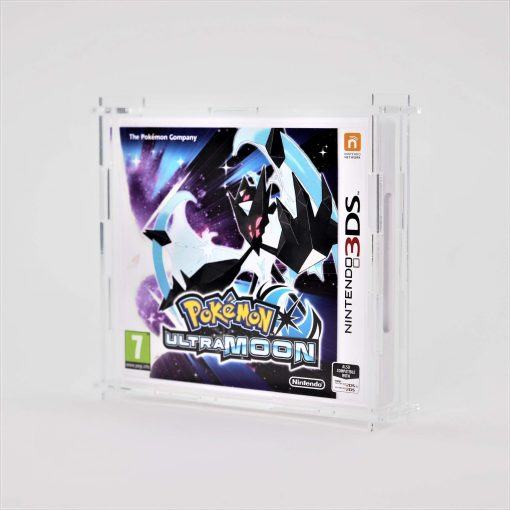Clear Acrylic Nintendo 3DS Game Display Case