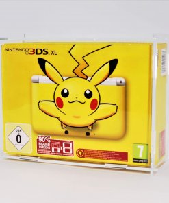 Clear Acrylic Nintendo 3DS XL Boxed Console Display Case