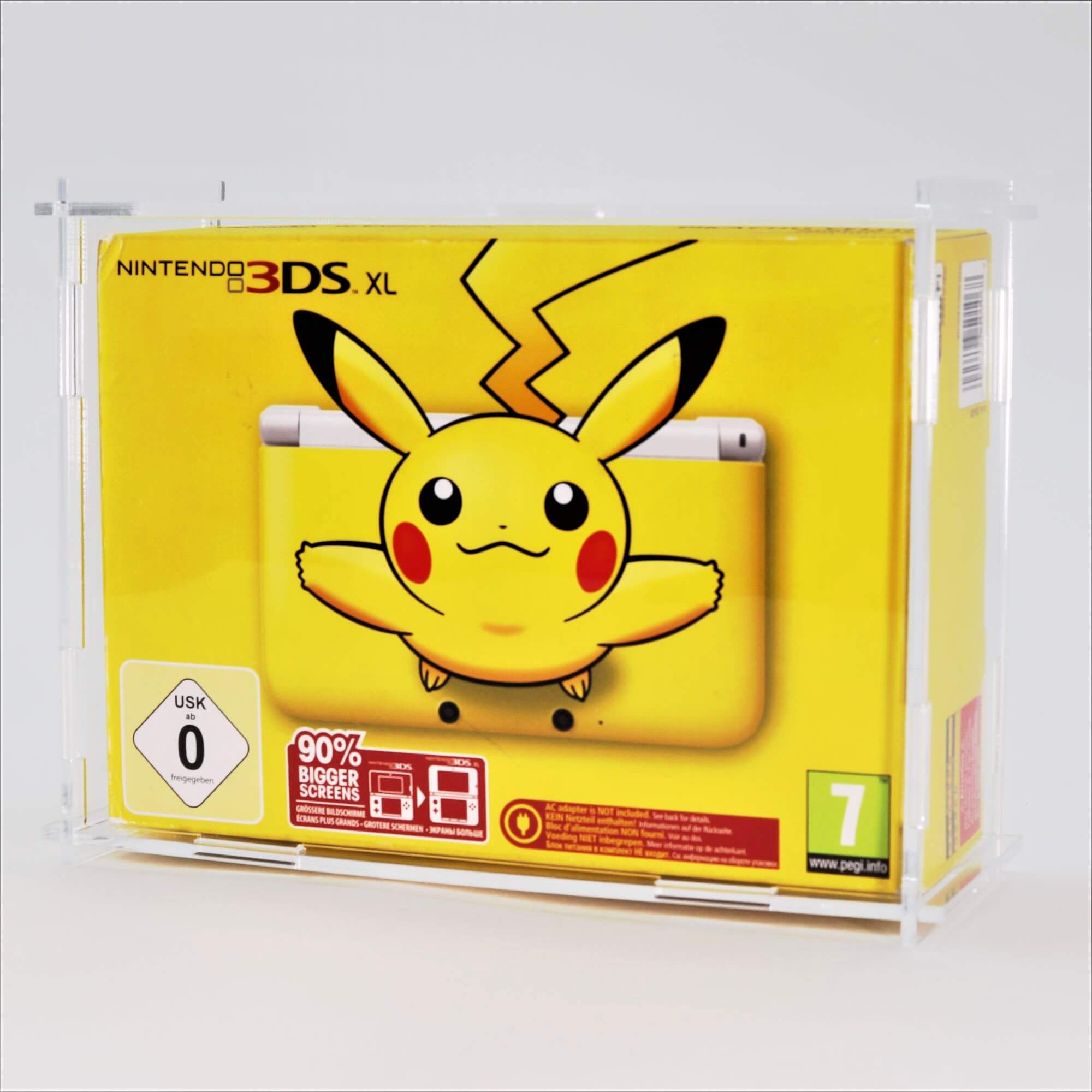 Phot of a Nintendo 3DS XL Boxed Console Display Case