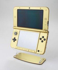 Nintendo 3DS XL Display Stand in Gold Metallic