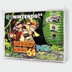 Nintendo 64 DK64 PAK Console Case