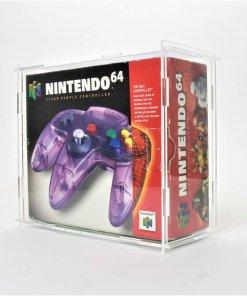 Clear Acrylic Nintendo 64 Boxed Controller Display Case