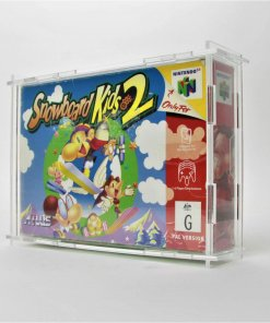 Clear Acrylic Nintendo 64 Game Display Case