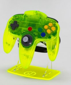 Nintendo 64 Extreme Green Controller Stand for the Retro Gamer
