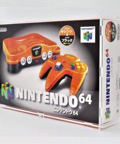 Retro N64 - Nintendo 64 Boxed Japanese Console Display Case