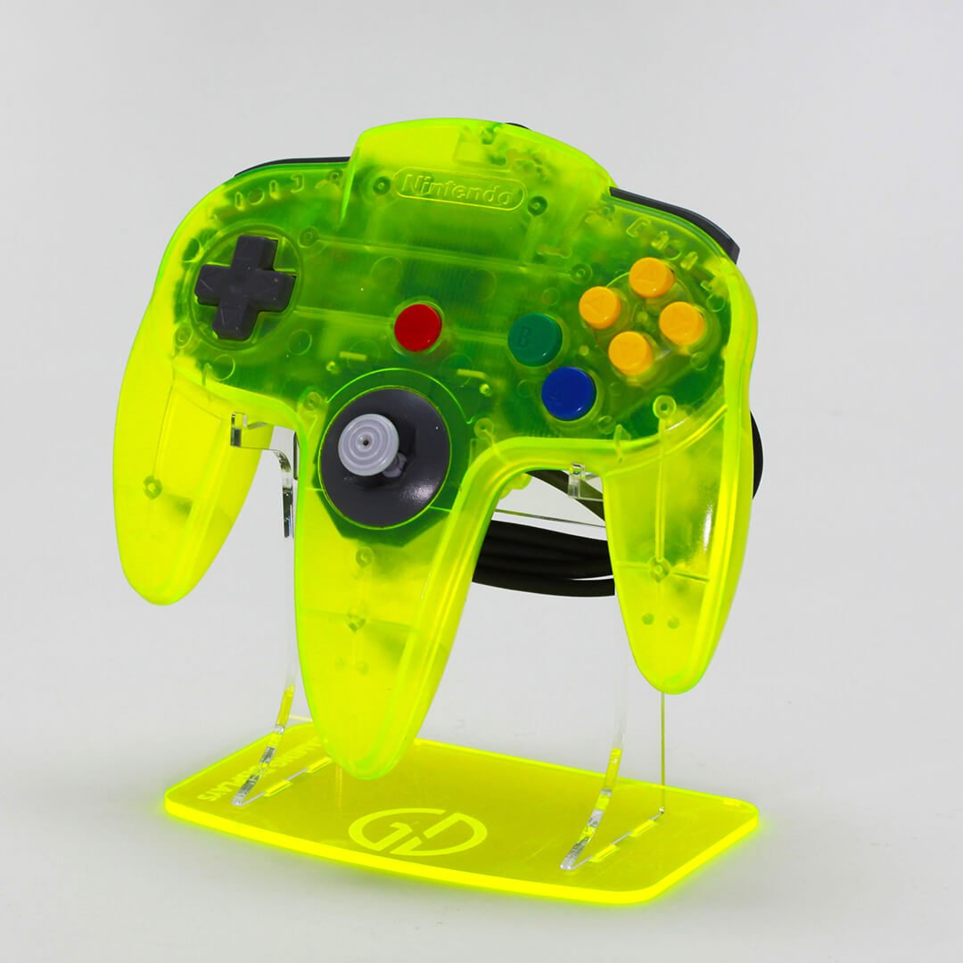Nintendo 64 Acrylic Controller Display Stand