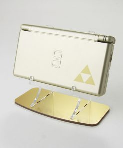 Nintendo DS Lite Display Stand In Gold Metalic