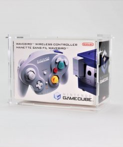 Clear Acrylic Nintendo GameCube WaveBird Boxed Controller Display Case