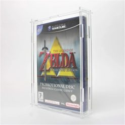 Clear Acrylic Nintendo GameCube Game Display Case