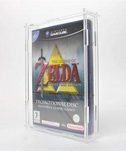 Photo of a Nintendo GameCube Game Display Case
