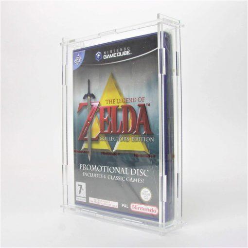 Clear Acrylic Nintendo GameCube Game Display Case
