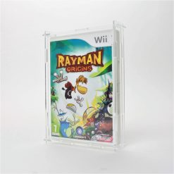 Clear Acrylic Nintendo Wii Game Display Case