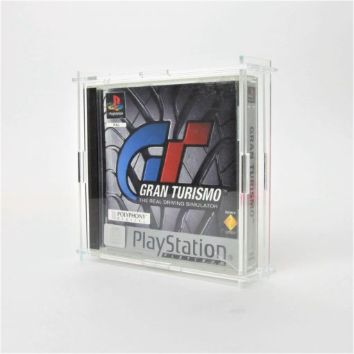Clear Acrylic Sony PlayStation Game Display Case