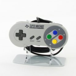 Retro SNES Super Nintendo Entertainment System Acrylic Controller Display Stand