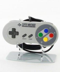 Retro SNES Super Nintendo Entertainment System Acrylic Controller Display Stand