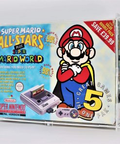 Super Nintendo Entertainment System SNES Big Box Console Display Case