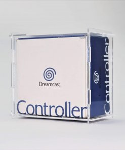 Clear Acrylic Sega Dreamcast Boxed Controller Display Case