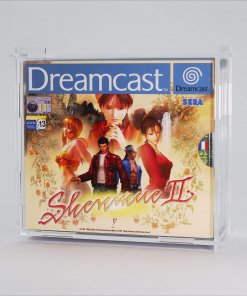 Clear Acrylic Sega Dreamcast Double Game Display Case
