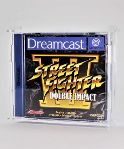 Clear Acrylic Sega Dreamcast Single Game Display Case