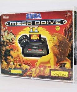 Photo of a Sega Mega Drive II Boxed Console Display Case