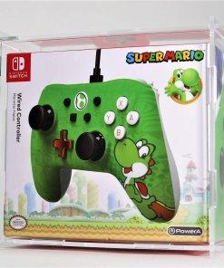 Clear Acrylic Nintendo Switch PowerA Controller Plus Display Case