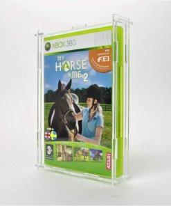 Photo of a Microsoft Xbox 360 Game Display Case