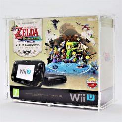 Clear Acrylic Nintendo Wii U Boxed Console Display Case