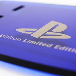 Close up of the PlayStation 4 Limited Edition 500 Million PS4 Controller Display Stand
