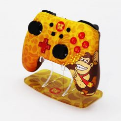 Donkey Kong Nintendo Switch Power A Controller Plus Printed Acrylic Controller Stand
