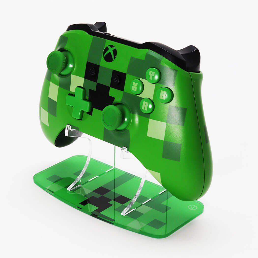 Minecraft Creeper Xbox One Printed Acrylic Controller Display Stand