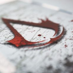 Assasins Creed Printed PS4 Controller Stand to match Kustom Kontrollers bespoke pads