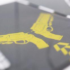Gunslinger Printed PS4 Controller Stand to match Kustom Kontrollers bespoke pads