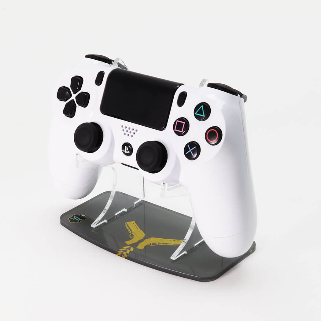Destiny Gunslinger Printed PS4 Controller Stand to match Kustom Kontrollers bespoke pads