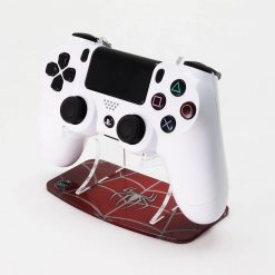 "Spider-Man themed ""Webslinger"" Printed PS4 Controller Stand to match Kustom Kontrollers bespoke pads"