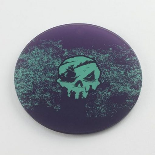 Sea of Thieves printed acrylic gaming coaster, gaming accessory