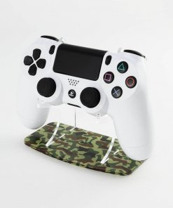 Woodland Camouflage PlayStation 4 Printed Controller Display Stand