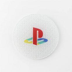 20th Anniversary PlayStation Printed Acrylic Gaming Coaster