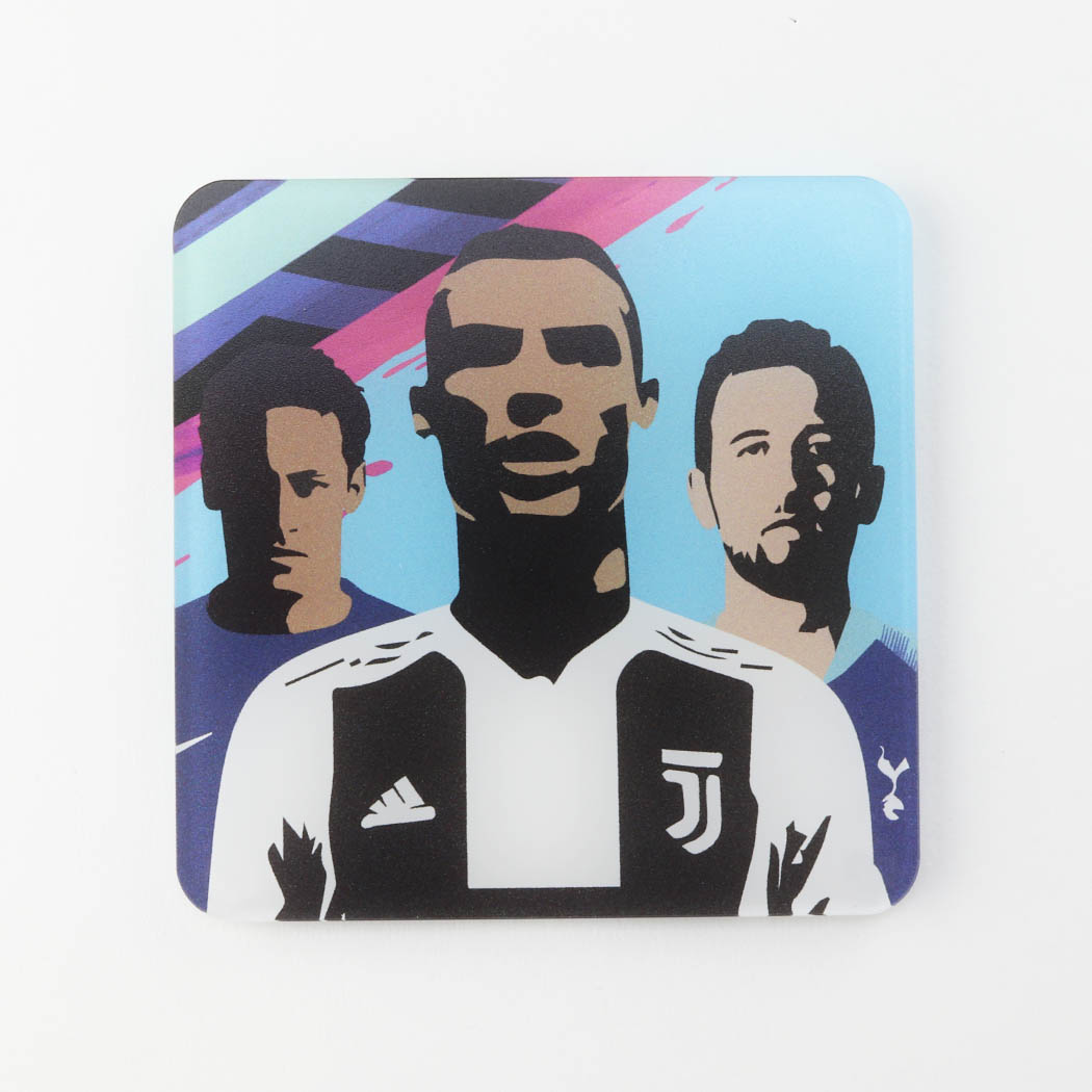 FIFA 19 Themed Printed Acrylic Gaming Coaster