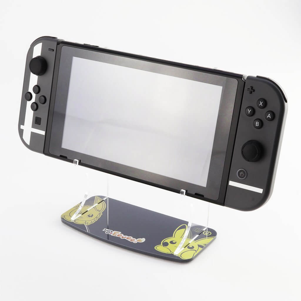 Pokemon Lets Go Eevee Ninyendo Switch Printed Console Stand